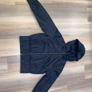 Lululemon windbreaker navy blue coat